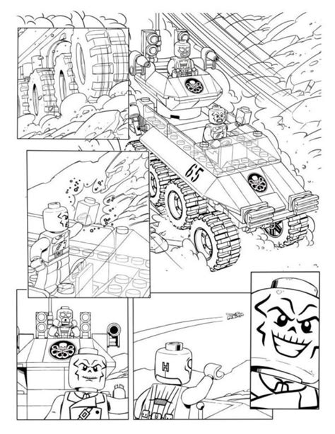 disegni da colorare disegni da colorare lego avengers