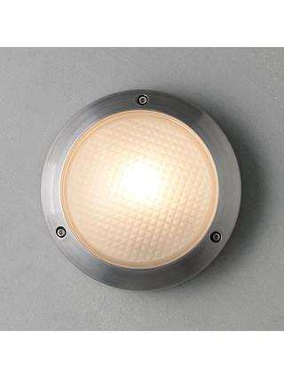 astro toronto outdoor round wall light at john lewis
