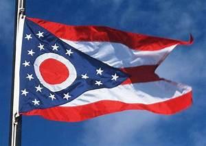 Ohio State Flags - Nylon & Polyester - 2' x 3' to 5' x 8'