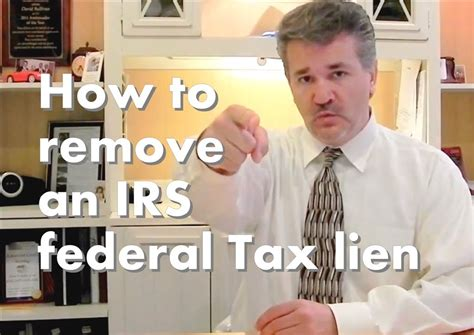 tax office remove a irs tax lien your credit report in 10 steps Irs