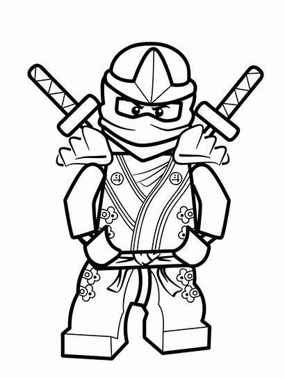Coloring Pages Lego Printable Ninja Ninjago