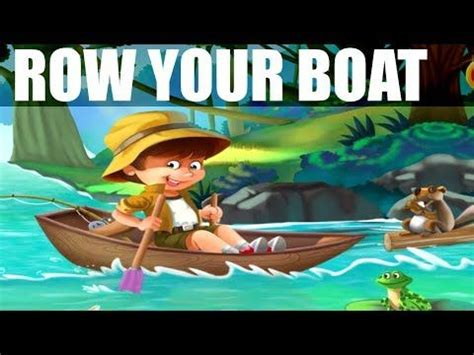 Row Row Your Boat Abc Kid Tv by Row Row Row Your Boat Kids Song With Lyrics Children