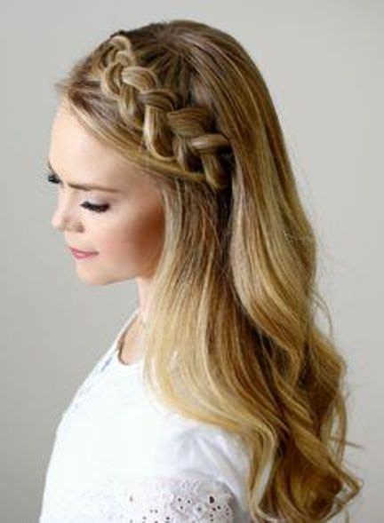 ravishing   thicker tiara braid head band
