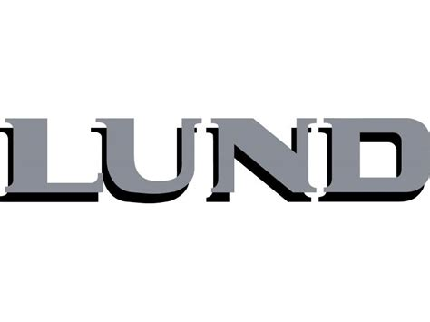 Boat Logos Lettering by Lund Boat Logo Decal Straight 2 Pack