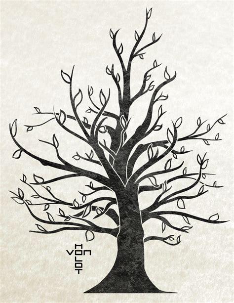 trees design papercraft tree vonholdt