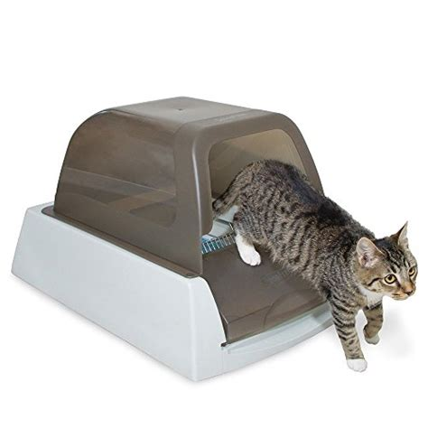 Auto Litter Box by Auto Litter Box Cat Tray Self Cleaning