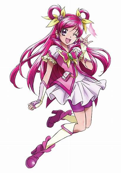 Cure Dream Deviantart Magical Candycanecroft Pretty Pink