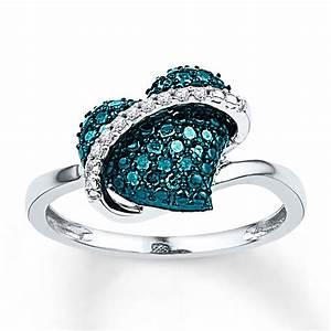 27 superb blue diamond wedding rings navokalcom With blue diamond wedding rings