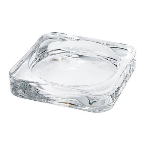 Candele Galleggianti Ikea by Glasig Candle Dish Clear Glass 10 X 10 Cm Ikea