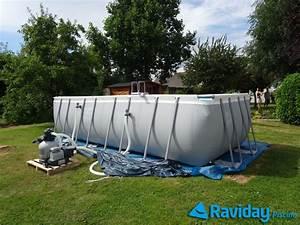 comment monter une piscine tubulaire montage et With sable pour filtration piscine hors sol 11 piscinas intex