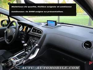 Boite Auto 3008 : essai peugeot 3008 f line hdi 163 bva c est dans la bo te actu automobile ~ Gottalentnigeria.com Avis de Voitures