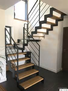 Prix Escalier Metal by Cuisine Fabrication Escalier Metal Bois Escalier Moderne