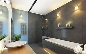 Aménager Une Salle De Bain : am nager une salle de bain moderne ~ Dailycaller-alerts.com Idées de Décoration