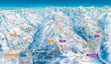 Valmeinier piste map - Alpski.com