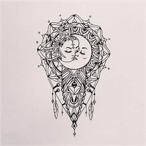 sun and moon mandala | Tumblr