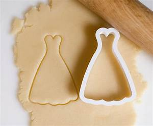 wedding dress cookie cutter by homeprint3d on etsy With wedding dress cookie cutter
