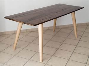 Tisch Aus Holz : tisch aus mit epoxidharz behandeltem briccola holz ~ Watch28wear.com Haus und Dekorationen