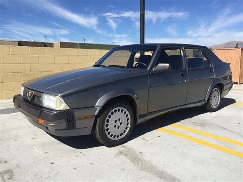 Alfa Romeo Verde For Sale by 1987 Alfa Romeo 3 0l Verde For Sale On Bat Auctions