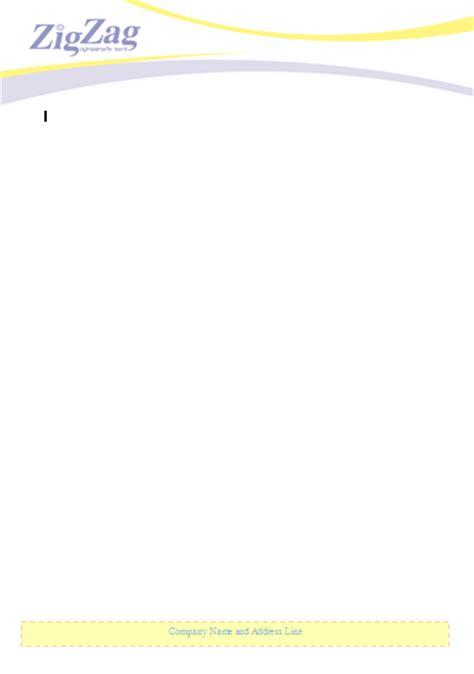 free letterhead template word letterhead templates word free