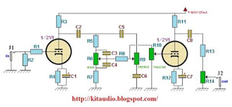 Information Construct Tube Preamp For Guitar With Tone