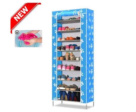 Lemari Sepatu 7 Susun jual lemari sepatu shoes rack 10 susun portable serbaguna