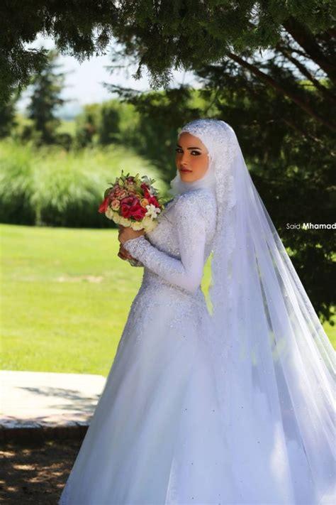 wedding hijab ideas  pinterest hijab bride