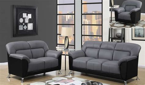 grey living room furniture set u9102 living room set in grey black by global furniture get furniture