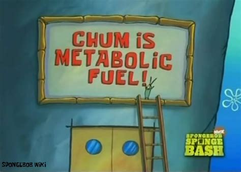 Krabs, the proprietor of the krusty krab, and sheldon plankton, owner and operator of the chum bucket, is legend. Marketing by Patrick from Spongebob Squarepants   Tepino