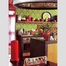 57 Bright And Colorful Kitchen Design Ideas  Digsdigs