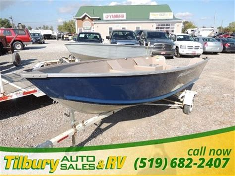 Used Aluminum Boats For Sale Ontario by Polar Kraft Aluminum 2011 Used Boat For Sale In Tilbury