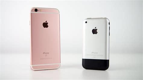 evolution of iphone 201 volution des pubs de l iphone 2g 224 l iphone 6s 2015