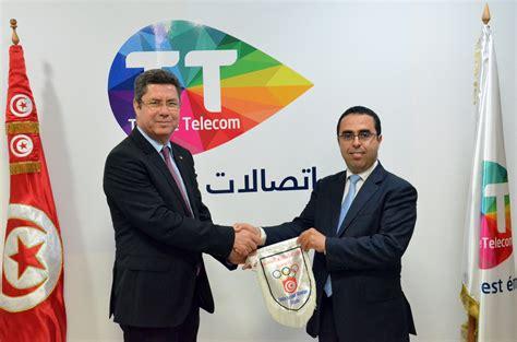tunisie telecom siege tunisie telecom partenaire officiel du comité national