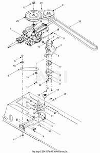 Troy Bilt 13aj689g766 Tuffy  2004  Parts Diagram For Drive