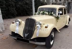 voiture de mariage décoration florale pour voiture de mariage à lyon 3 couleurs vert