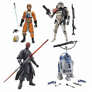 "Hasbro Star Wars Black Series 6-inches and 3.75"" Basic ..."