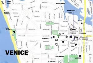 Venice Florida Beaches Map
