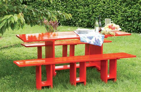 tavolo giardino fai da te tavolo fai da te in legno bricoportale fai da te e