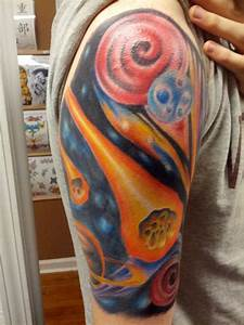 solar system tattoo sleeve - Google Search | Tattoos ...