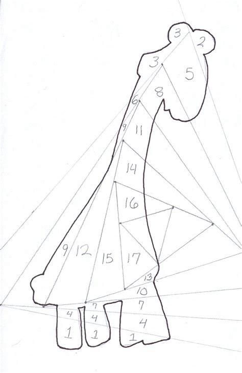 freeirisfoldingpatterns layout giraffe iris fold