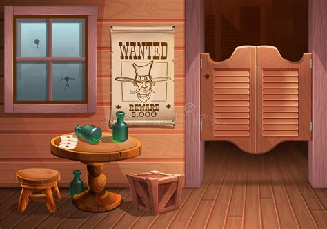 Wild West Wanted Poster Vector Stock Vector - Illustration ...