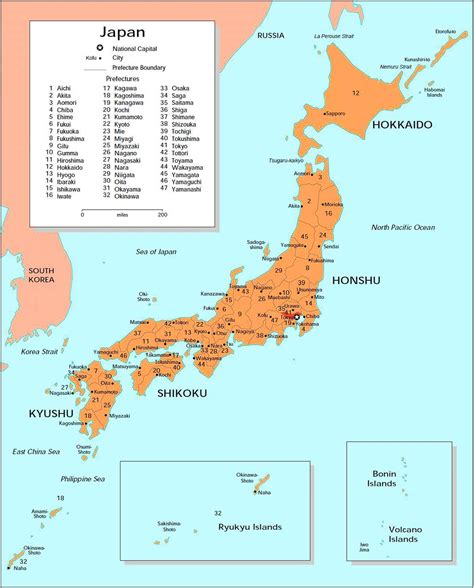 detailed big size map  japan showing cities travel