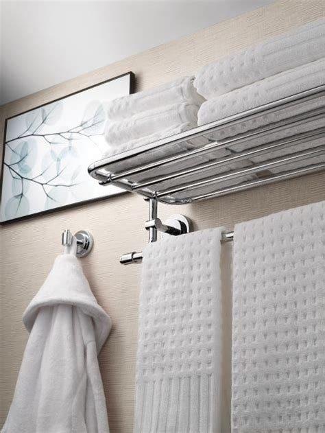 iso chrome towel shelf dnch moen