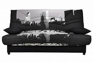 Canapé New York : canap clic clac new york maison et mobilier d 39 int rieur ~ Teatrodelosmanantiales.com Idées de Décoration