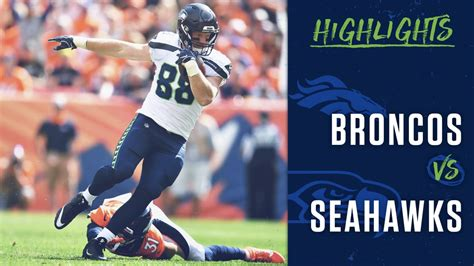 week  seahawks  broncos highlights