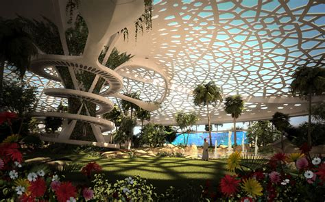 A Palace For Nature, Qatar Earchitect