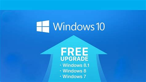 how to upgrade windows 7 8 and 8 1 to windows 10 for free