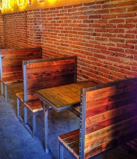 wood booths restaurant booth seating restaurant design