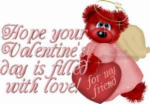 Happy Valentines Day Quotes Friends. QuotesGram