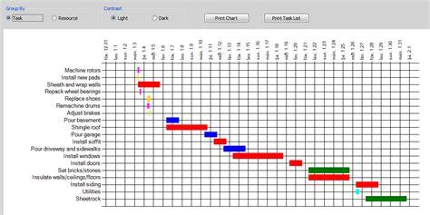 report gantt chart updated unit  web authoring unit  motion graphics video