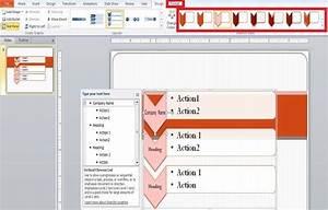 Create Flow Chart Using Smartart In Powerpoint 2010